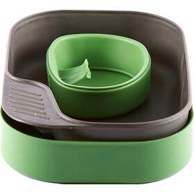 Wildo Camp-A-Box Set di piatti Basic, verde